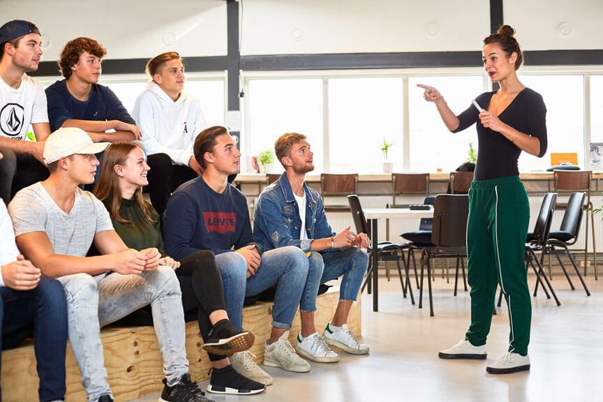 I AM College Ondernemersopleiding mbo Amsterdam Leren in de praktijk