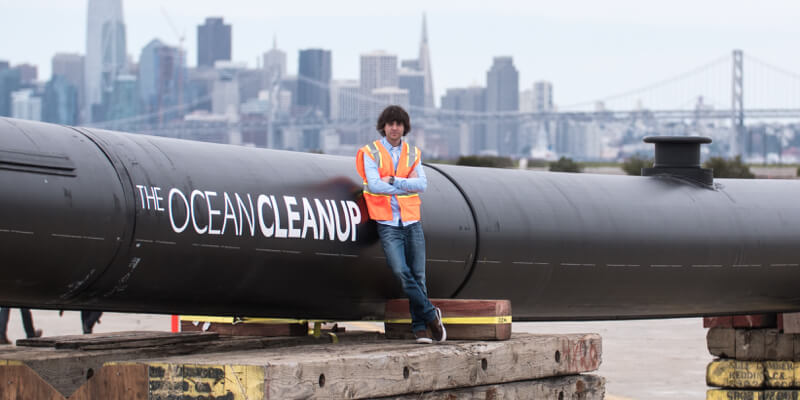 IAM - Boyan Slat - The Ocean Cleanup - Ondernemer