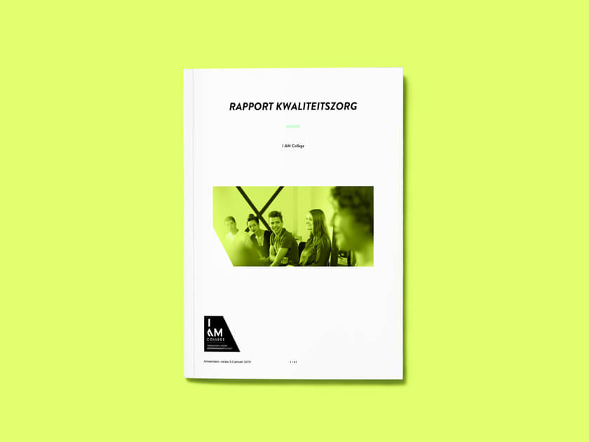 Rapport Kwaliteitszorg